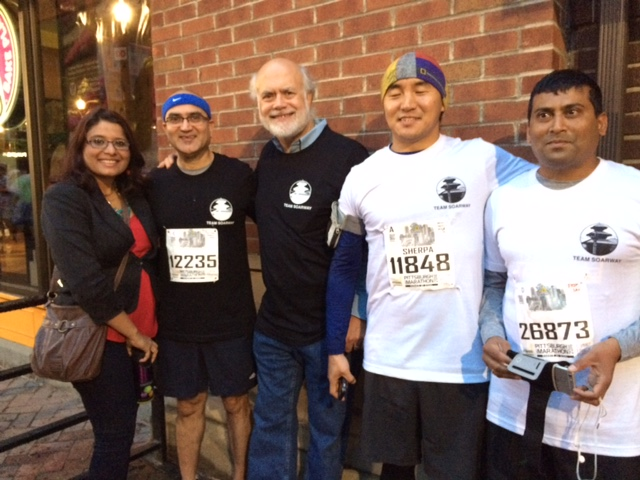 And the Winner Is…..Nepal!  Soarway and the Pittsburgh Marathon
