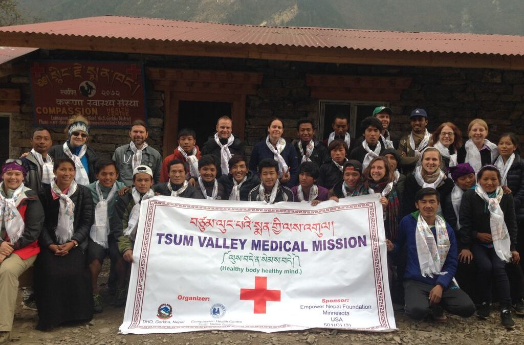 Making A Difference:  The Tsum Valley Medical Mission
